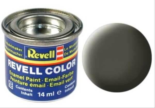REVELL 32146 nato-oliv, matt RAL 7013 14 ml-Dose