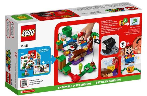 LEGO® Super Mario 71381 Begegnung mit dem Kettenhund # Erweiterungsset