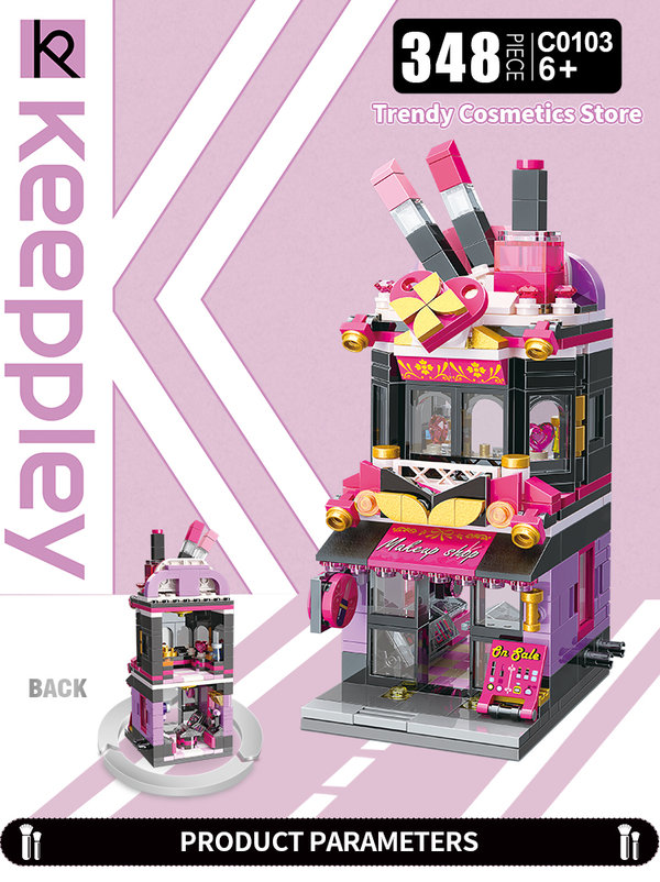 Keeppley by Qman C0103 City Trendy Cosmetics Store Parfümerie