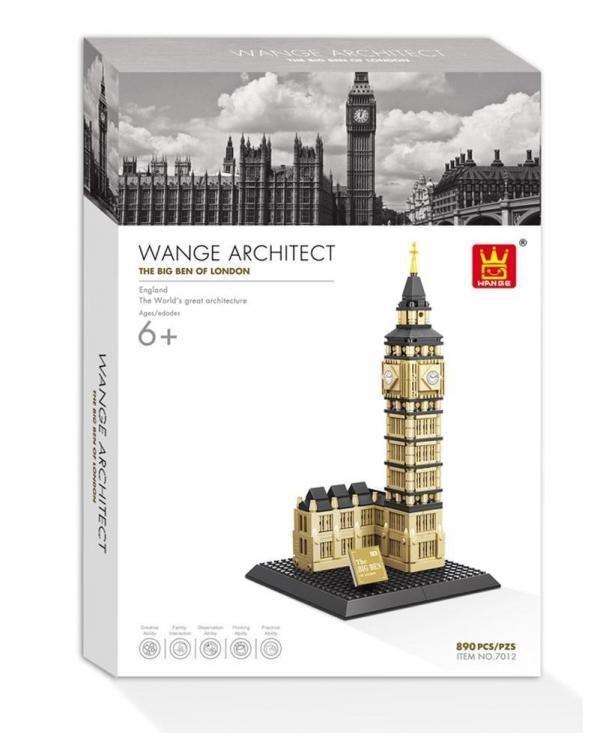 Wange 4211 Architect-Set The Big Ben of London 910 Teile