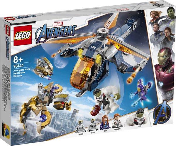 76144 LEGO® Marvel Super Heroes Avengers Hulk Helikopter Rettung