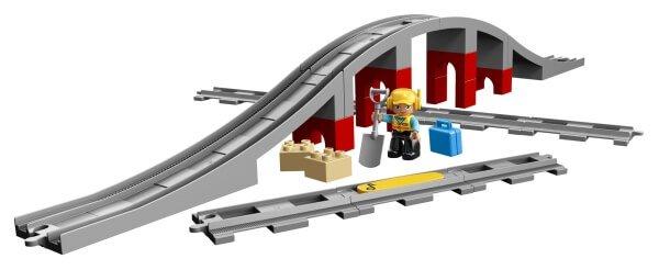 10872 LEGO® DUPLO® Eisenbahnbrücke und Schienen