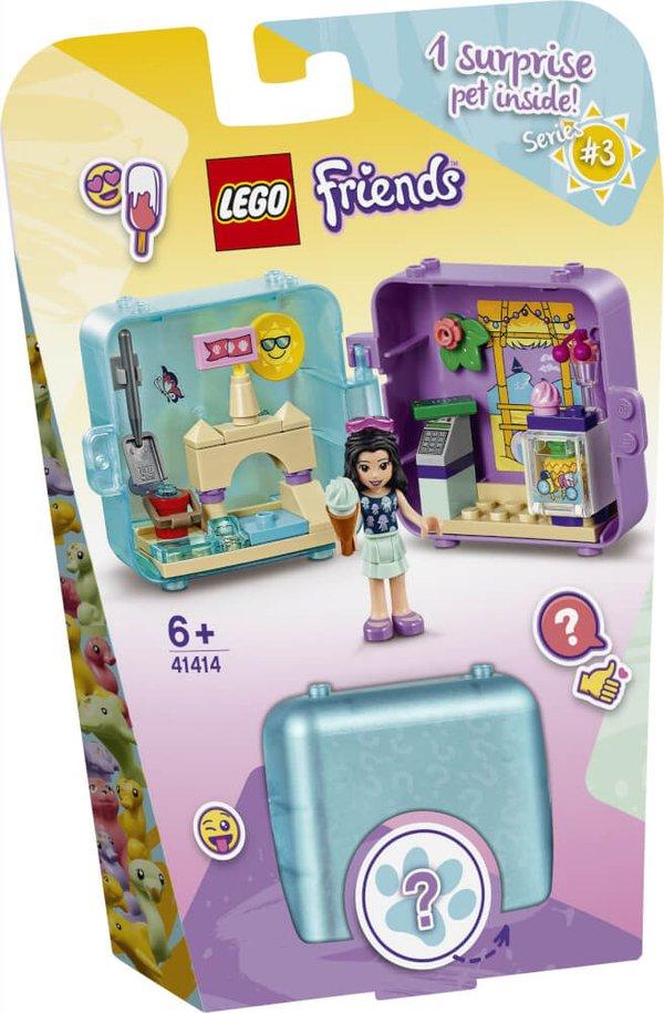 41414 LEGO® Friends Magische Würfel Emmas Sommer Würfel - Eis Café