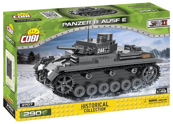 Cobi 2707 Panzer III Ausf. E 1:48 - Pad Printed -