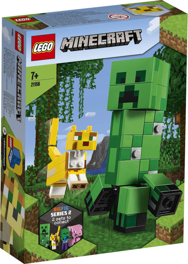 21156 LEGO® Minecraft BigFig Creeper und Ozelot