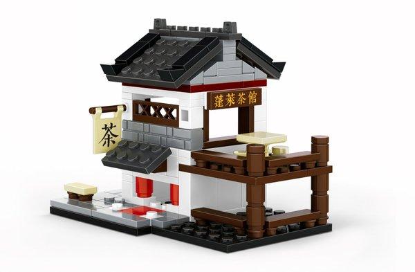 Wange 2315 Architecture-Set Chinesisches Teehaus