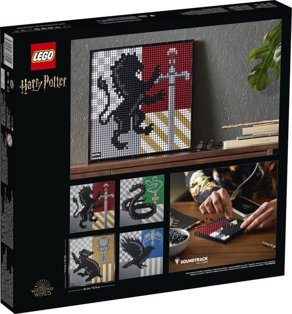 LEGO® ART 31201 Harry Potter# Hogwarts# Wappen