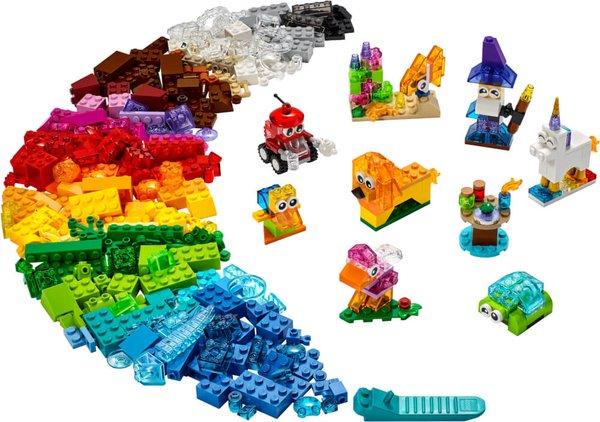 11013 LEGO® Classic Kreativ-Bauset mit durchsichtigen Steinen