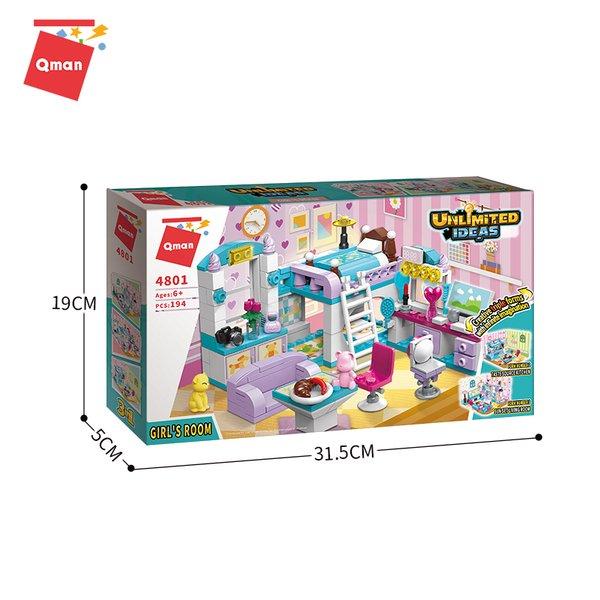 Qman 4801 Unlimited Ideas Girls Room Mädchenzimmer 3in1