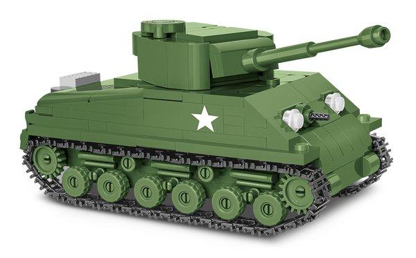 Cobi 2705 M4A3E8 Sherman Easy Eight 1:48 Pad Pinted- no Stickers