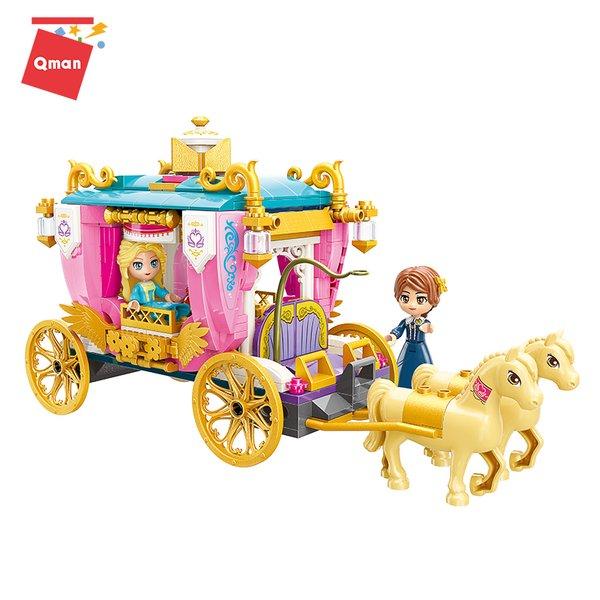 Qman 2614 Princess Leah Königliche Kutsche