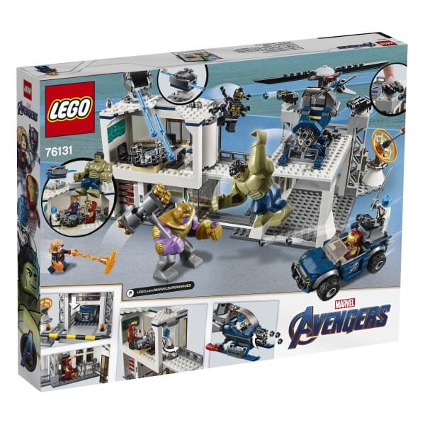 76131 LEGO® Super Heroes Avengers - Hauptquartier