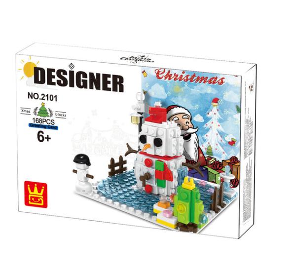 "Wange 2101 Designer baubare Weihnachtskarte ""Merry Christmas"""