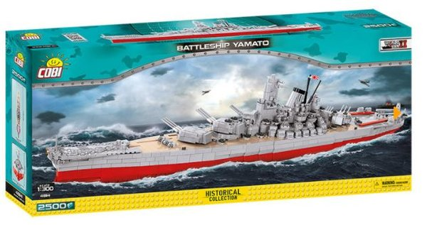 Cobi 4814 Battelship Yamato Schlachtschiff (Historical Collection )