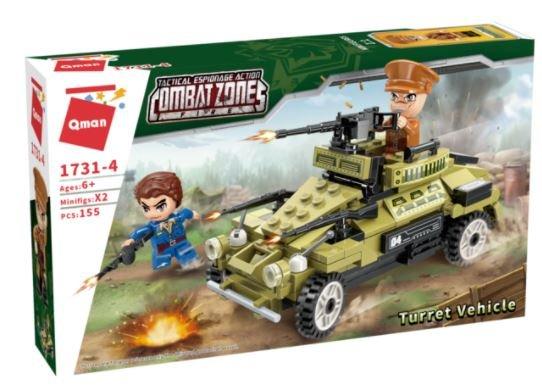 Qman 1731-4 Combat Zones Gepanzerter Sturmwagen