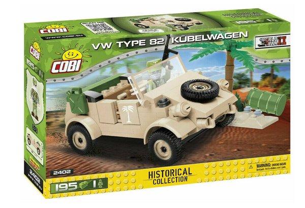 Cobi 2402 VW Type 82 Kübelwagen Bausatz WW2