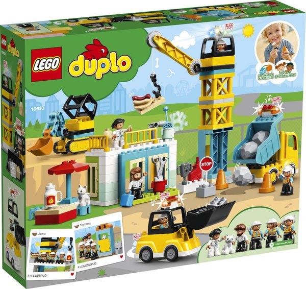 10933 LEGO® DUPLO® Große Baustelle mit Licht und Ton