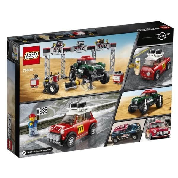 75894 LEGO® Speed Champions Mini Cooper S & Buggy Mini JCW