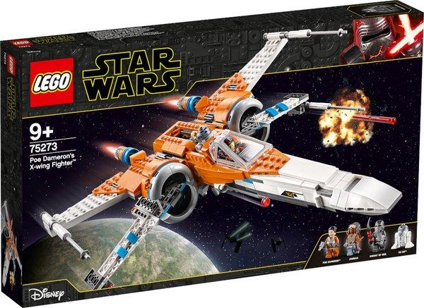 75273 LEGO® Star Wars Poe Damerons X-Wing Starfighter