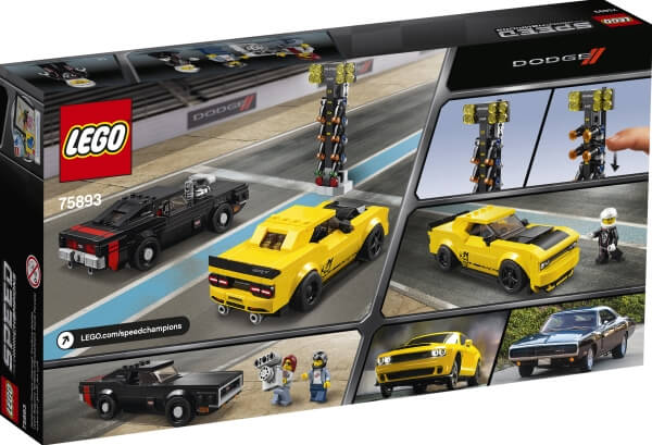 75893 LEGO® Speed Champions 2018 Dodge Challenger & Charger