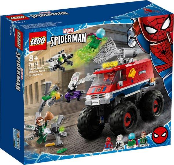 76174 LEGO® Marvel Super Heroes# Spider-Mans Monstertruck vs. Mysterio