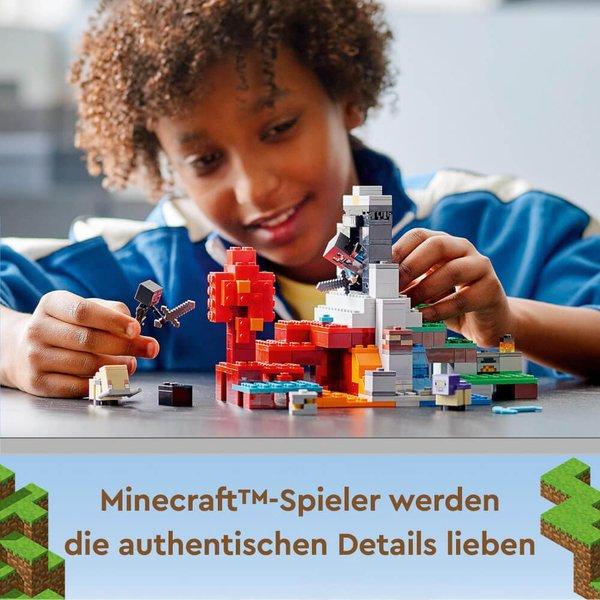 21172 LEGO® Minecraft# Das zerstörte Portal