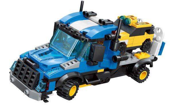 Qman 1809 Trans Collector kleine Fahrzeuge 8 in 1
