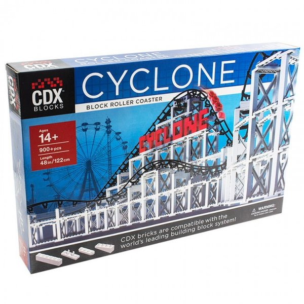 CDX BLOCKS Cyclone Brick Roller Coaster