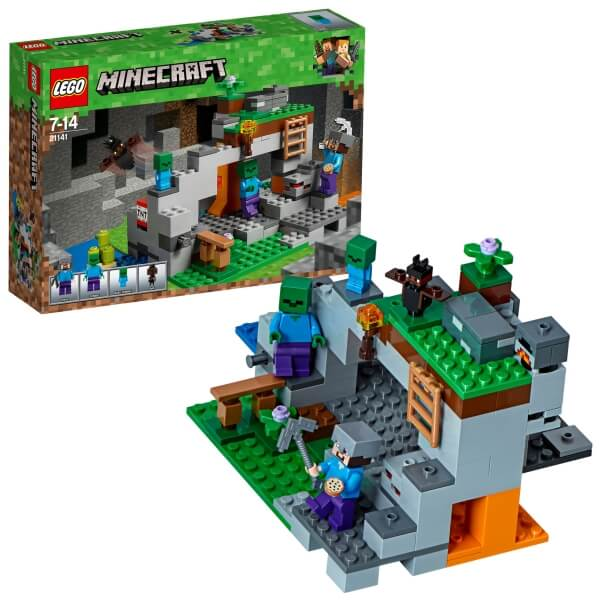 21141 LEGO® Minecraft Zombiehöhle