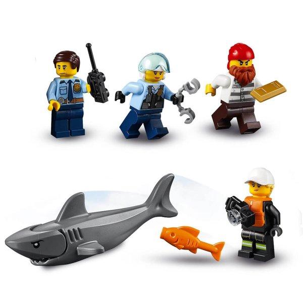 60308 LEGO® City Polizei und Feuerwehr im Küsteneinsatz, Seltenes Set