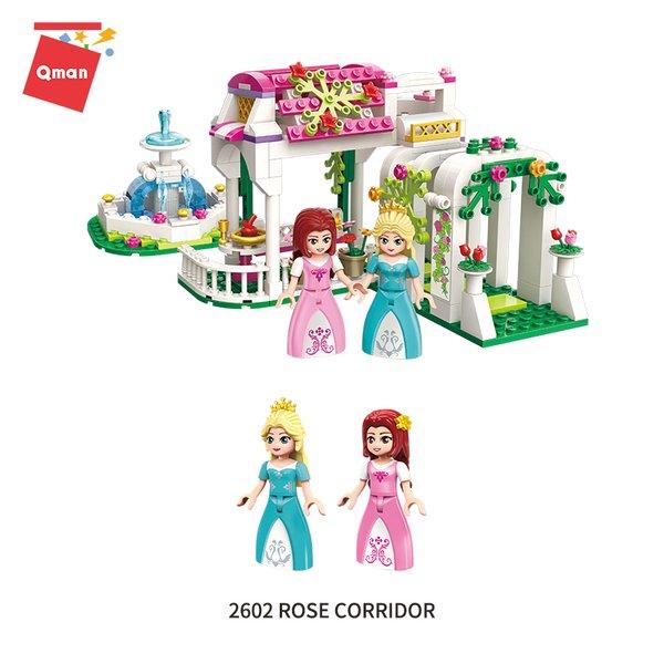 """Qman 2602 Princess Leah """"Rose Corridor"""" / Prinzessinnen Garten"""