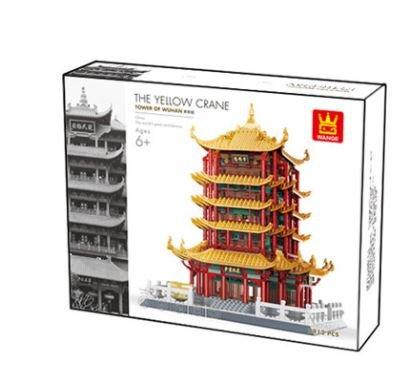 Wange 6214 Architect-Set Yellow Crane Tower 2912 Teile