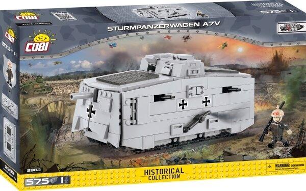 2982 COBI Sturmpanzerwagen A7V