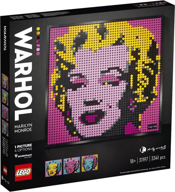 31197 LEGO® ART Andy Warhol's Marilyn Monroe