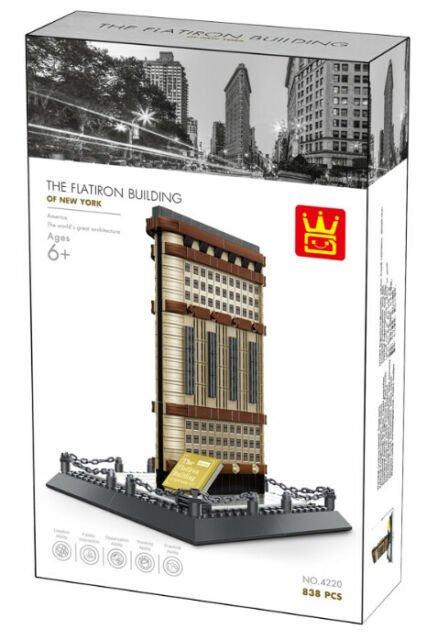 Wange 4220 Architect-Set The Flatiron Building of New York 838 Teile