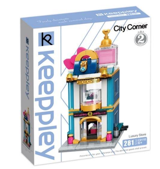 Keeppley by Qman C0110 City Corner 2 Luxusgeschäft Luxury Store