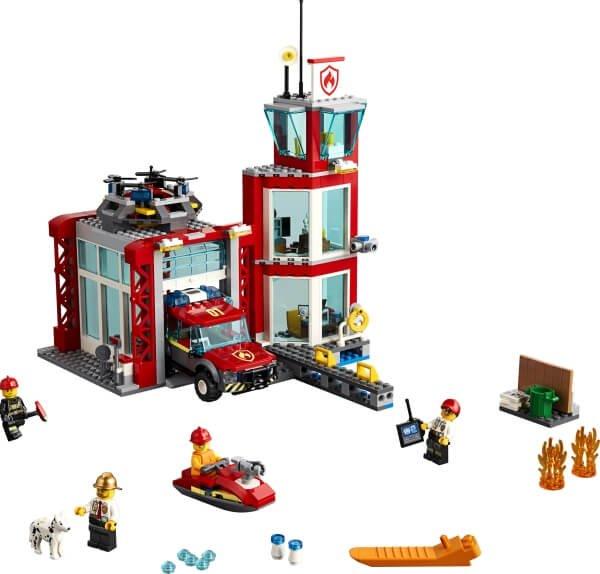 60215 LEGO® City Feuerwehrstation