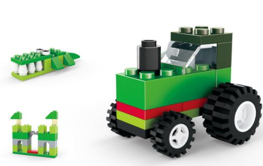093-7 Wange Designer Creative Basic Construction-Tractor