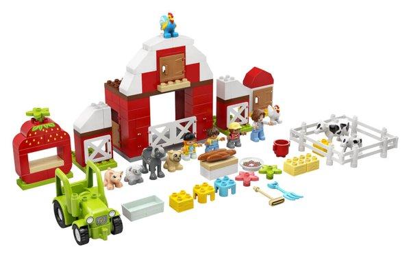 10952 LEGO® DUPLO® Scheune, Traktor und Tierpflege