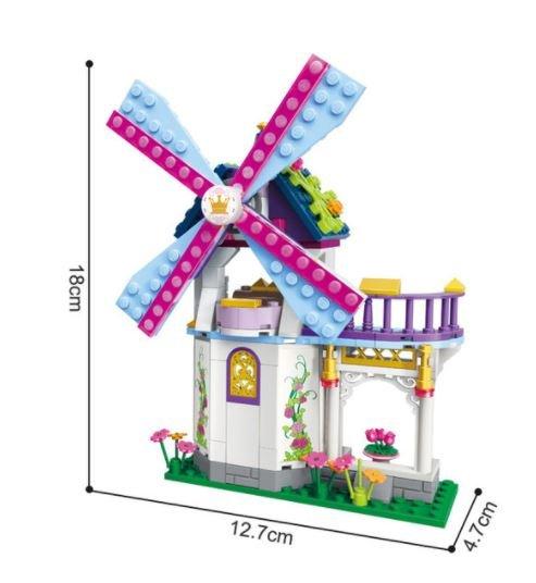 Qman 2604 Princess Leah Regenbogen-Windmühle