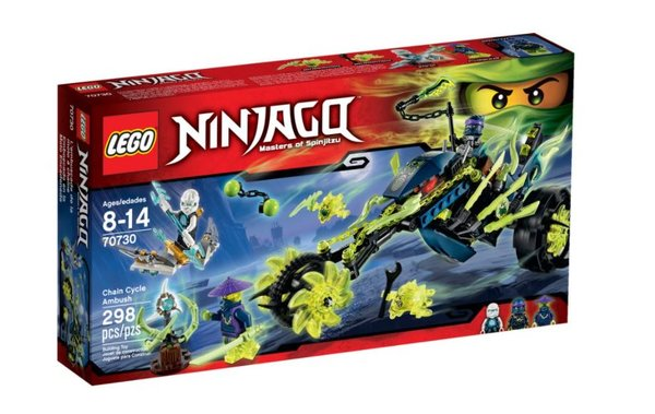 70730 LEGO® NINJAGO Kettenrad Hinterhalt