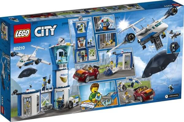 60210 LEGO® City Polizei Flieger Stützpunkt