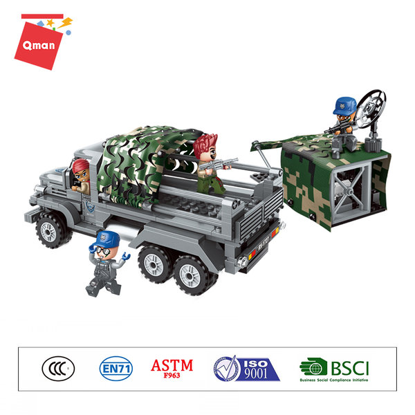 Qman 1727 Battle Forces Army Trooper Crawler Truppentransporter