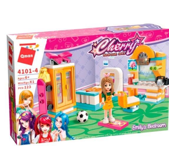 Qman 4101-4 Cherry Emilys Schlafzimmer