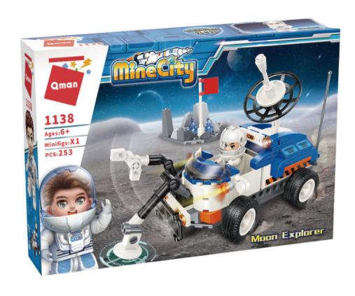 Qman 1138 Mond-Erforschungsfahrzeug Moon Explorer