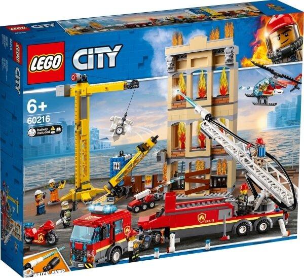 60216 LEGO® City Feuerwehr in der Stadt