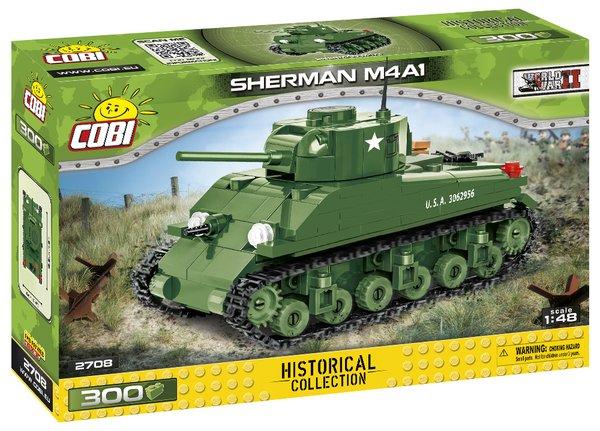 COBI 2708 Sherman M4A1 1:48 - pad printed -