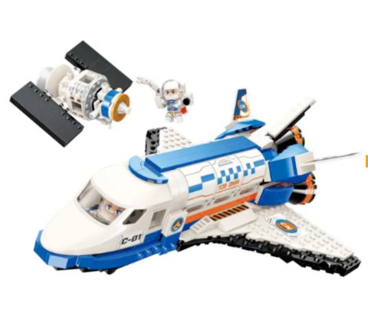 Qman 1139 Space Shuttle Stargazer mit Satellit