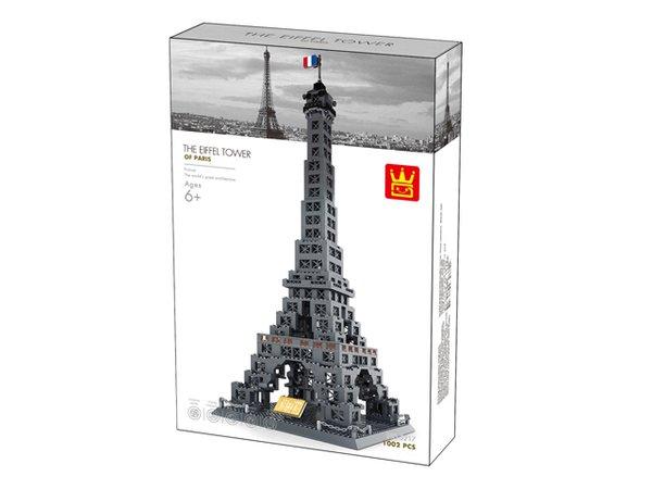 Wange 5217 Architect-Set The Eiffel Tower of Paris (Eiffelturm) 978 Teile