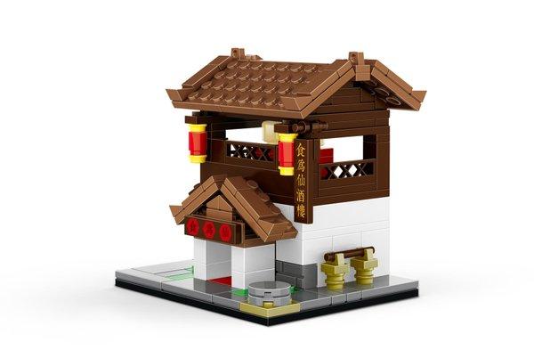 Wange 2317 Architecture-Set Chinesisches Restaurant